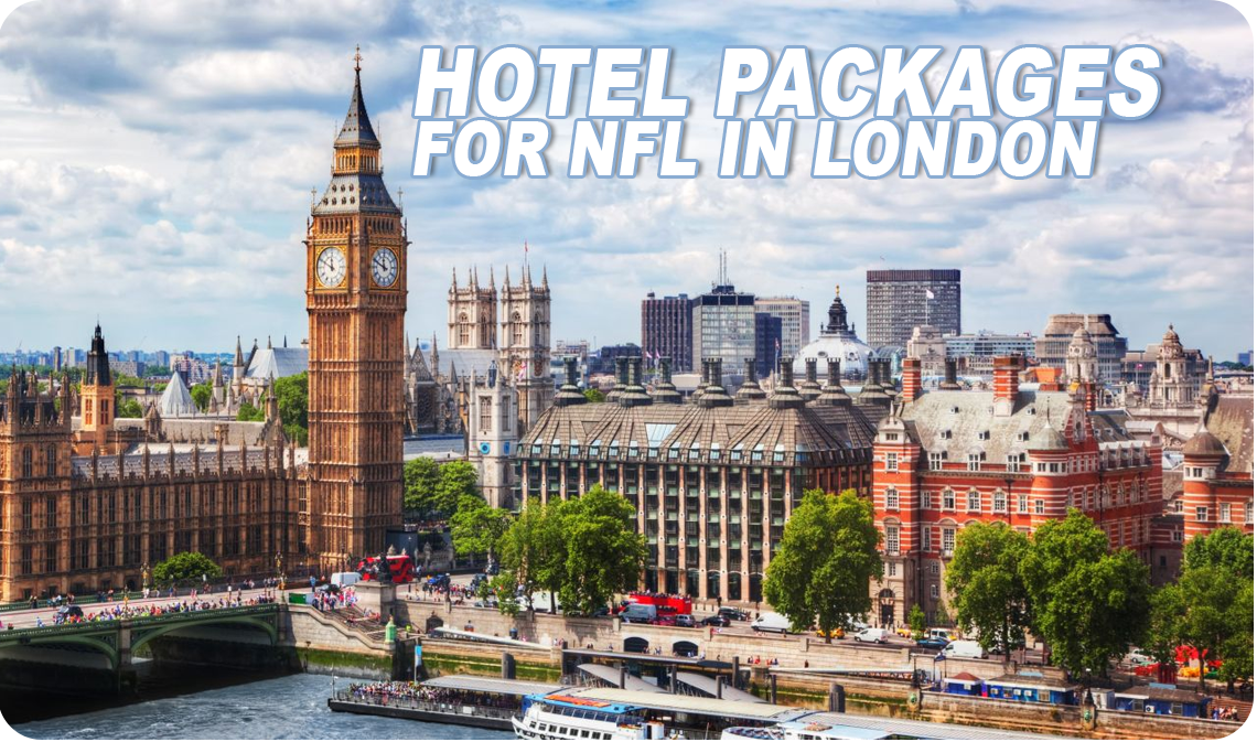 NFL LONDON GAME  - HOTEL PACKAGES Book hotels & tickets in London to see BUCCANEERS, PANTHERS, RAIDERS, RAMS, TEXANS, BEARS, BENGALS, JAGUARS & other matches and dates, book now | www.londongamehotelpackages.com